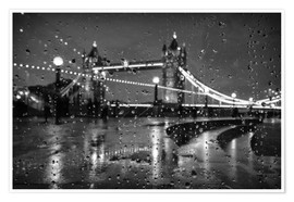 Poster  Tower Tears London - Alex Saberi