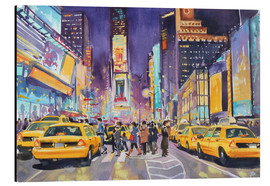 Alubild  Times Square bei Nacht - Paul Simmons