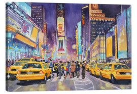 Leinwandbild  Times Square at night - Paul Simmons