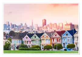 Poster  Painted Ladies am Abend