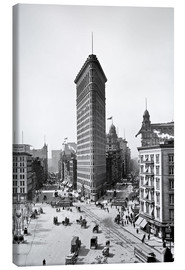 Leinwandbild  New York City 1920, Flatiron Building - Sascha Kilmer