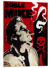 Acrylglasbild  Doble Mike, Death Proof - 2ToastDesign