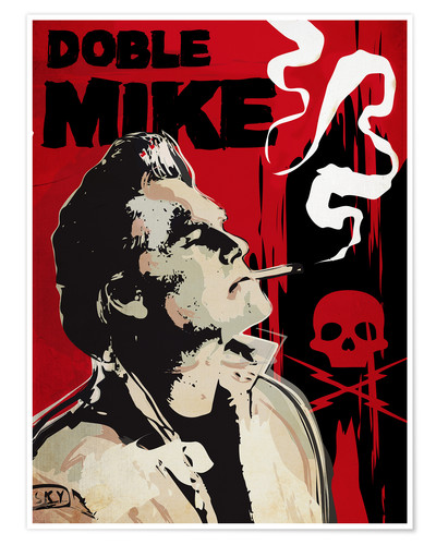 Premium-Poster Doble Mike, Death Proof