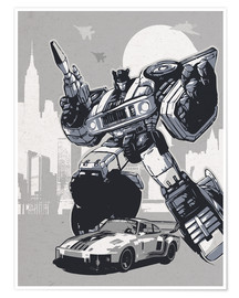 Premium-Poster  Jazz, Transformers - 2ToastDesign