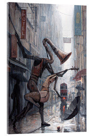 Acrylglasbild  Life is a dance in the rain - Adrian Borda