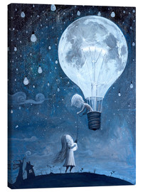 Leinwandbild  He gave me the brightest star - Adrian Borda