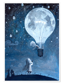 Premium-Poster  He gave me the brightest star - Adrian Borda