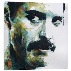 Hartschaumbild  Freddie Mercury - Paul Lovering Arts