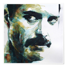 Premium-Poster  Freddie Mercury - Paul Lovering Arts