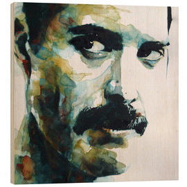 Holzbild  Freddie Mercury - Paul Paul Lovering Arts