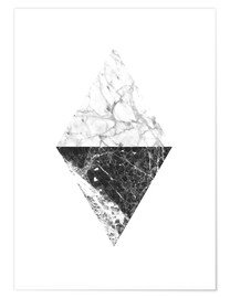 Poster Marble Diamant