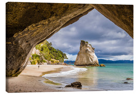 Leinwandbild  Cathedral Cove - Thomas Klinder