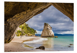 Hartschaumbild  Cathedral Cove - Thomas Klinder