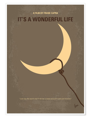 Premium-Poster It's A Wonderful Life