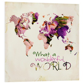Forex  What A Wonderful World Map - Mandy Reinmuth