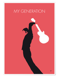 Premium-Poster No002 MY THE WHO Minimal Music poster