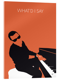 Acrylglasbild  Ray Charles - What'd I Say - chungkong
