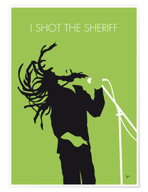 Premium-Poster Bob Marley - I Shot The Sheriff