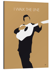 Alubild  No010 MY Johnny Cash Minimal Music poster - chungkong