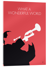 Acrylglasbild  Louis Armstrong - What A Wonderful World - chungkong