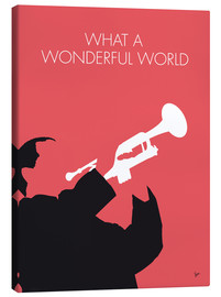 Leinwandbild  Louis Armstrong - What A Wonderful World - chungkong