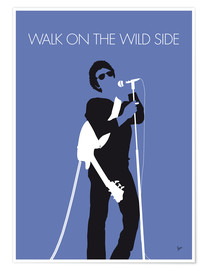Premium-Poster Lou Reed - Walk On The Wild Side