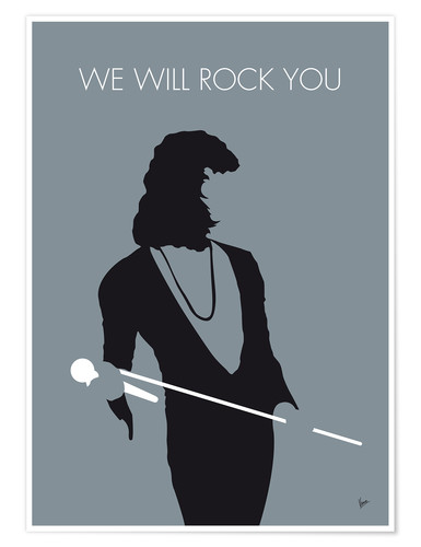 Poster No027 MY QUEEN Minimal Music poster