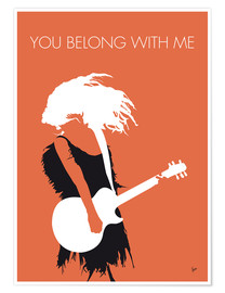Premium-Poster  Taylor Swift - You Belong With Me - chungkong