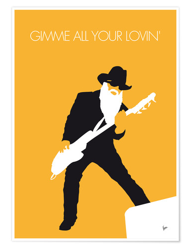 Premium-Poster ZZ Top - Gimme All Your Lovin'