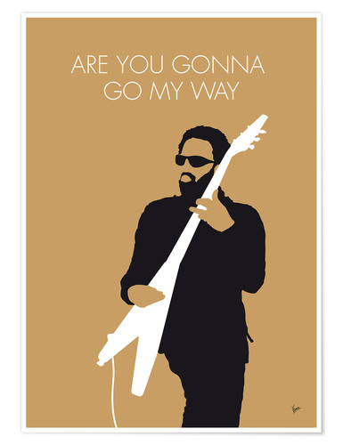 Premium-Poster Lenny Kravitz - Are You Gonna Go My Way