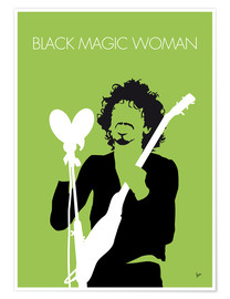 Premium-Poster Santana - Black Magic Woman