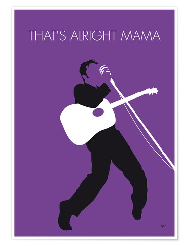Premium-Poster Elvis - That's Alright Mama
