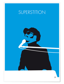 Poster No039 MY STEVIE WONDER Minimal Music poster
