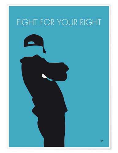 Premium-Poster Beastie Boys - Fight For Your Right