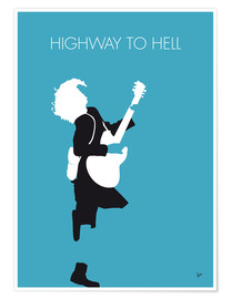 Premium-Poster AC/DC - Highway To Hell