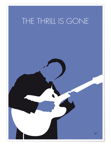 Premium-Poster B.B. King - The Thrill Is Gone