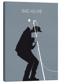 Leinwandbild  No037 MY TOM WAITS Minimal Music poster - chungkong
