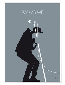 Premium-Poster Tom Waits - Bad As Me