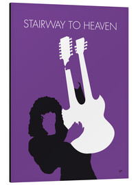 Alubild  No011 MY Led zeppelin Minimal Music poster - chungkong