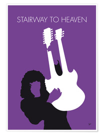 Poster No011 MY Led zeppelin Minimal Music poster