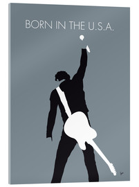 Acrylglasbild  Bruce Springsteen - Born In The U.S.A. - chungkong
