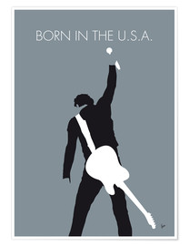 Premium-Poster  Bruce Springsteen - Born In The U.S.A. - chungkong