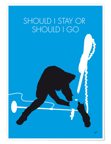 Premium-Poster The Clash - Should I Stay Or Should I Go