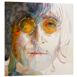 Hartschaumbild  John Winston Lennon - Paul Lovering Arts