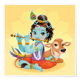 Premium-Poster  Baby Krishna - Kidz Collection