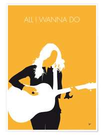 Premium-Poster  Sheryl Crow - All I Wanna Do - chungkong