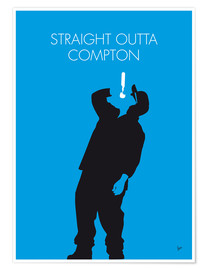 Premium-Poster N.W.A. - Straight Outta Compton