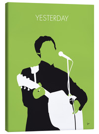 Leinwandbild  MY PAUL MCCARTNEY Minimal Music poster - chungkong