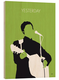 Holzbild  MY PAUL MCCARTNEY Minimal Music poster - chungkong