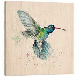 Holzbild  Hummingbird Flurry - Sillier Than Sally